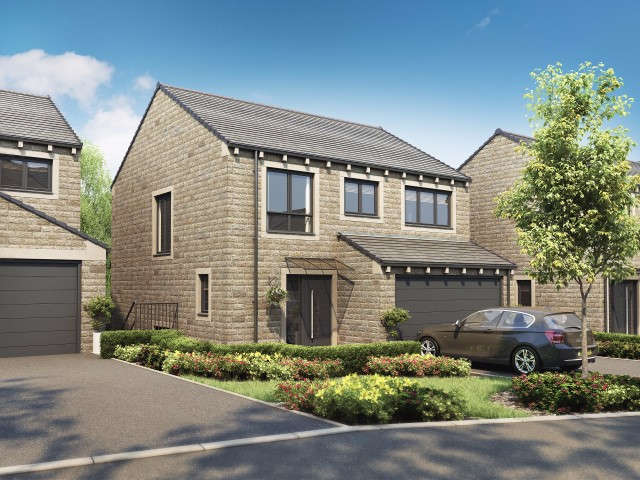 4 Bedrooms Detached House for sale in The Cowling Pennine Close, Upperthong, Holmfirth, HD9