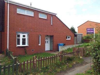4 Bedrooms End Of Terrace House for sale in Bournemouth Close, Murdishaw, Runcorn, Cheshire, WA7