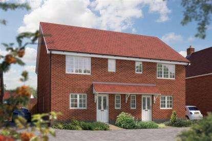 3 Bedrooms Semi Detached House for sale in Off Silfield Road, Wymondham, Norfolk
