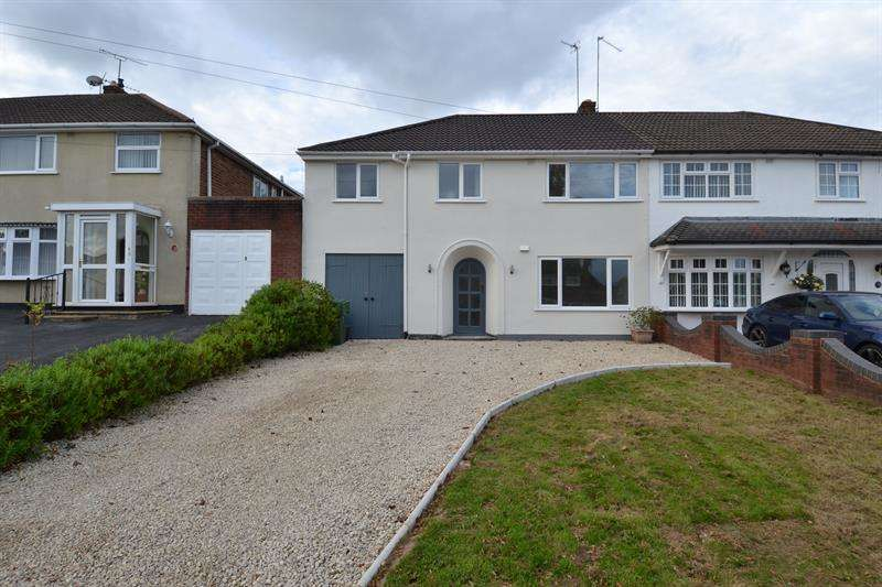 4 Bedrooms Semi Detached House for sale in Waseley Road, Rednal, Birmingham