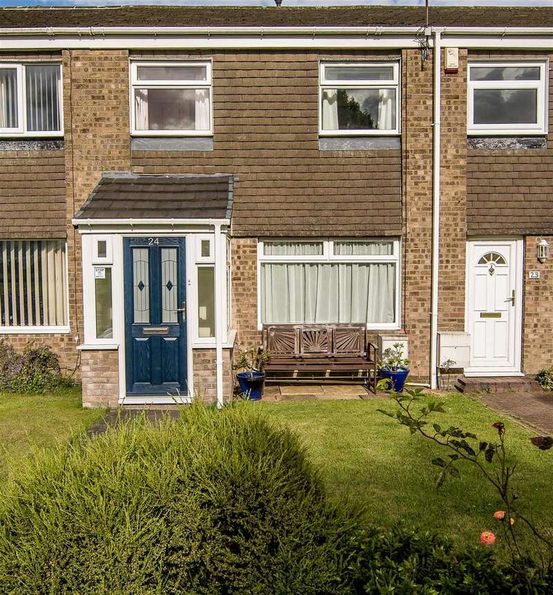 3 Bedrooms Terraced House for sale in Norwich Way, Parkside Chase, Cramlington