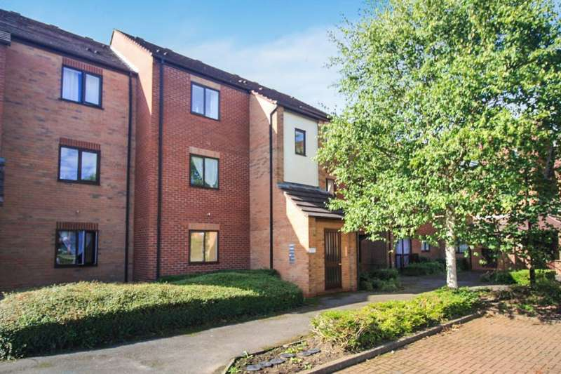 1 Bedroom Ground Flat for sale in Peter James Court, Stafford, ST16 3YX