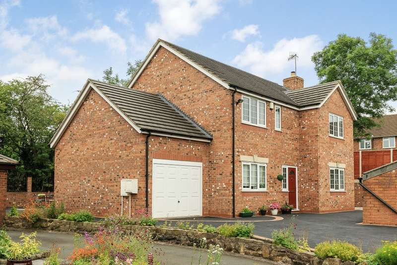 4 Bedrooms Detached House for sale in Casa Giovedi, Lakewood Drive, Stoke-on-Trent, Staffordshire ST12