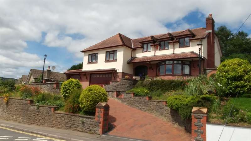 4 Bedrooms Detached House for sale in Tydfil Road, Bedwas, Caerphilly