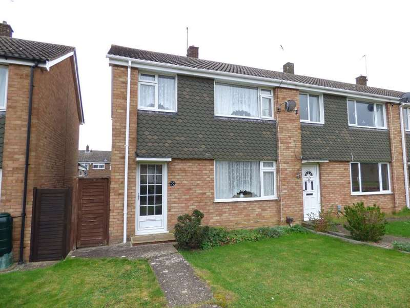 3 Bedrooms End Of Terrace House for sale in Mersey Way, Brickhill, Bedford, MK41 7AZ