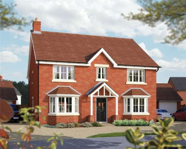 5 Bedrooms Detached House for sale in The Winchester, St Marys, King Fields, Biddenham