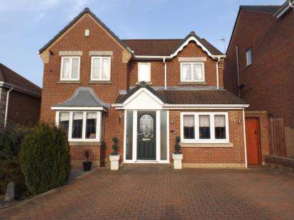 4 Bedrooms Detached House for sale in Fitzwilliam Drive, Forest Town, Mansfield, Nottinghamshire