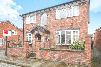 4 Bedrooms Detached House for sale in Old Hall Street, Macclesfield, Cheshire, .