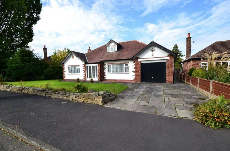 3 Bedrooms Detached Bungalow for sale in Willow Way, Bramhall, Stockport SK7 2AW