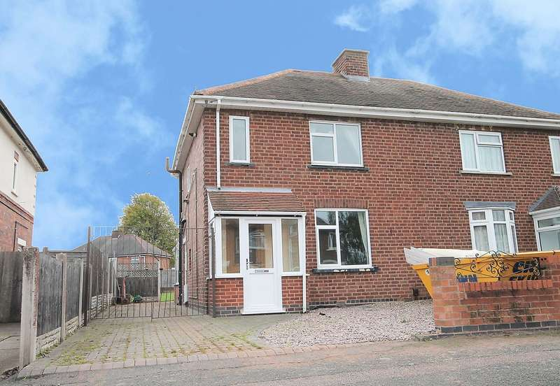 2 Bedrooms Semi Detached House for sale in Bridgewater Street, Bolehall, Tamworth