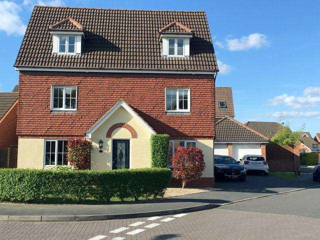5 Bedrooms Detached House for sale in Water Mill Crescent,Sutton Coldfield,West Midlands