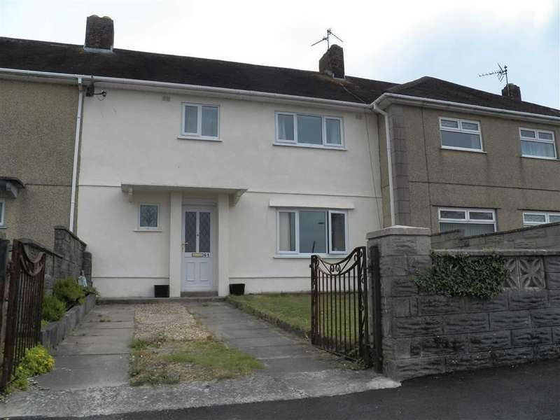 3 Bedrooms Terraced House for sale in Brynsierfel, Llanelli