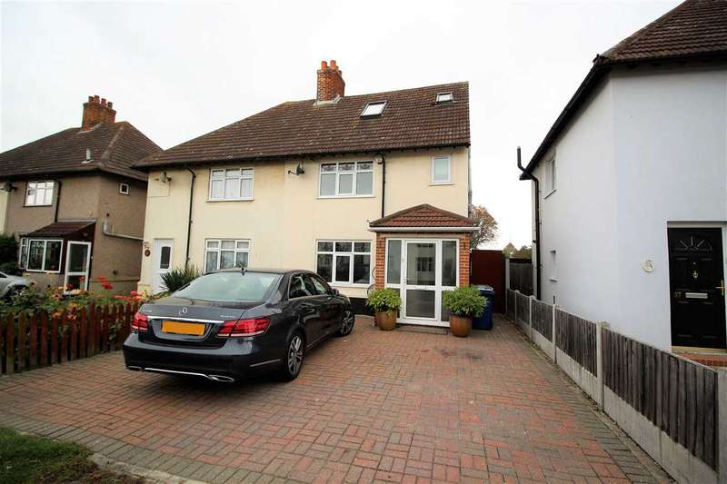 5 Bedrooms Semi Detached House for sale in Heathview Road