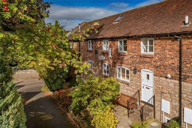 4 Bedrooms Terraced House for sale in Bourton Road, Much Wenlock, Shropshire
