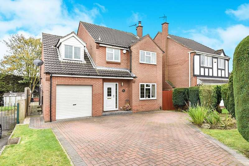 4 Bedrooms Detached House for sale in Oakdale Road, Broadmeadows,South Normanton, Alfreton, DE55