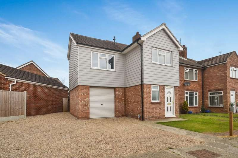 4 Bedrooms Semi Detached House for sale in Gainsborough Road, Colchester