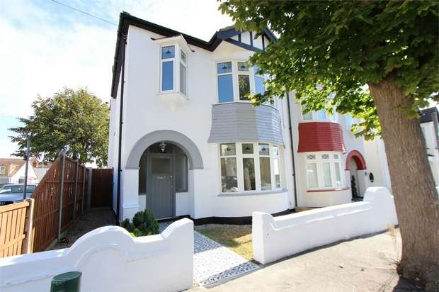 3 Bedrooms Semi Detached House for sale in 80 Fairleigh Drive, LEIGH-ON-SEA, Essex