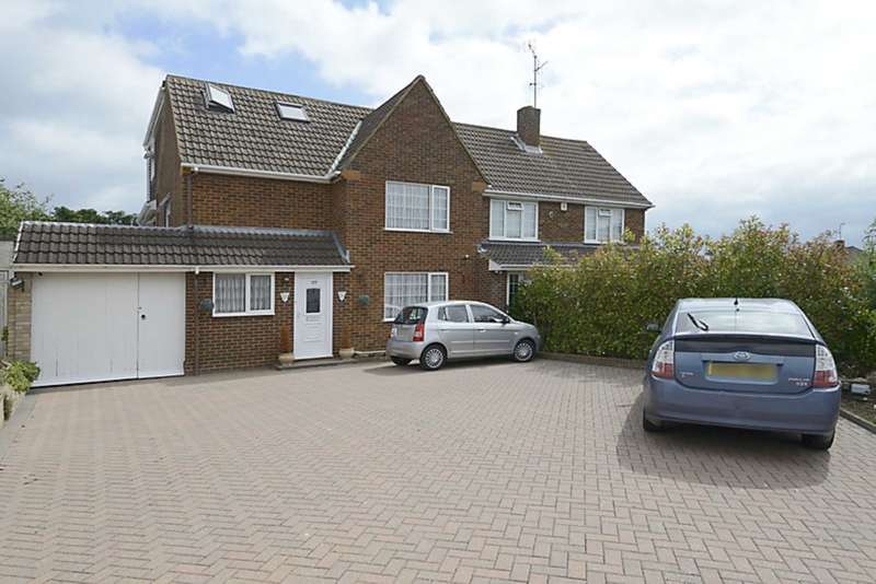 5 Bedrooms Semi Detached House for sale in Silverdale Road, Earley