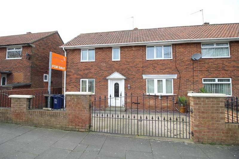 3 Bedrooms Semi Detached House for sale in Saxondale Road, Kenton, Newcastle Upon Tyne