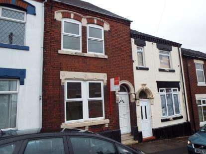 3 Bedrooms Terraced House for sale in Dyke Street, Stoke-On-Trent, Staffordshire