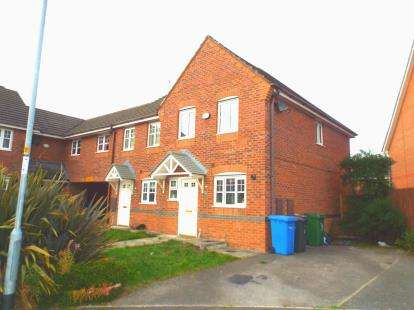 3 Bedrooms End Of Terrace House for sale in Larkspur Grove, Saxon Park, Warrington, Cheshire