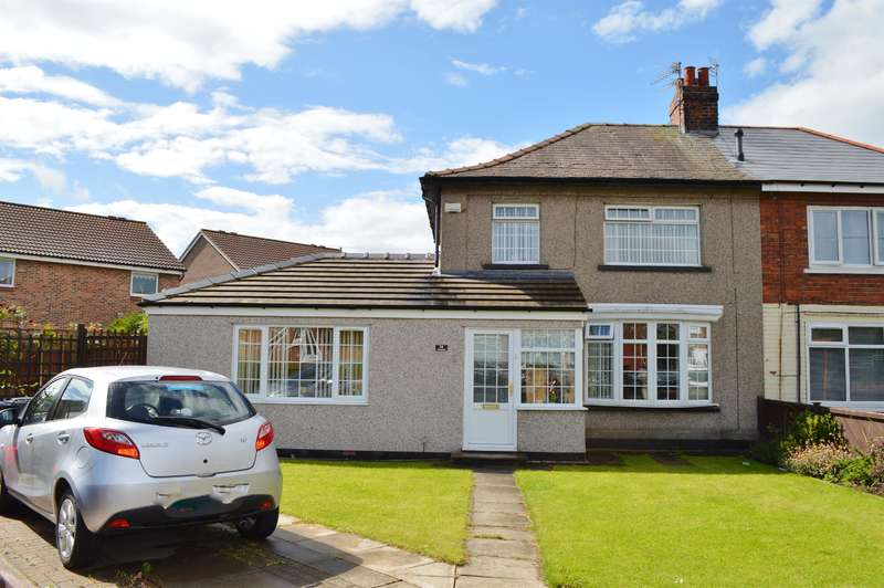 4 Bedrooms Semi Detached House for sale in Ferndale Avenue, Brambles Farm, Middlesbrough, TS3 9EL