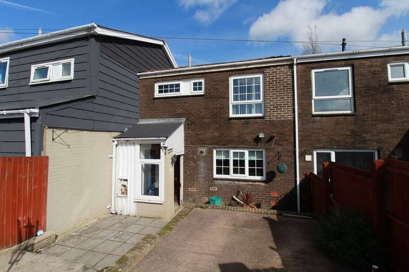 3 Bedrooms Terraced House for sale in Roundhouse Close, Nantyglo, Ebbw Vale, NP23