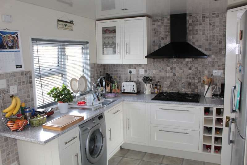 3 Bedrooms Park Home Mobile Home for sale in Craufurd Court, Crosbie Towers, West Kilbride, Ayrshire, KA23