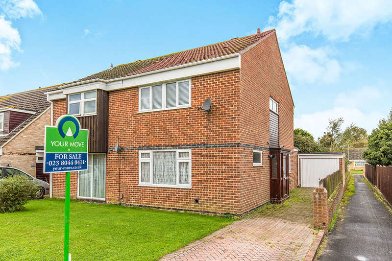 3 Bedrooms Semi Detached House for sale in Holmesland Drive, Botley, Southampton, SO30