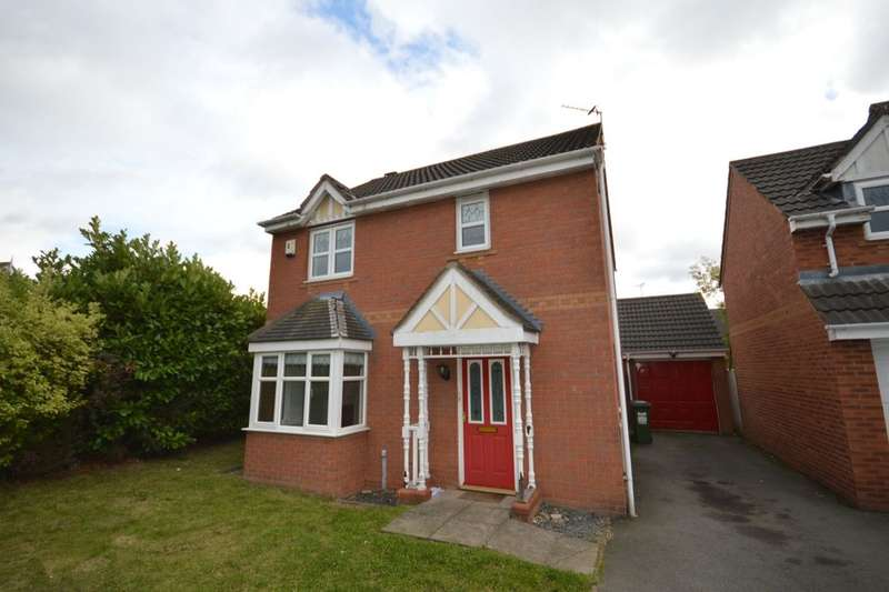 3 Bedrooms Detached House for sale in Seaton Road, Thorpe Astley,Braunstone, Leicester, LE3