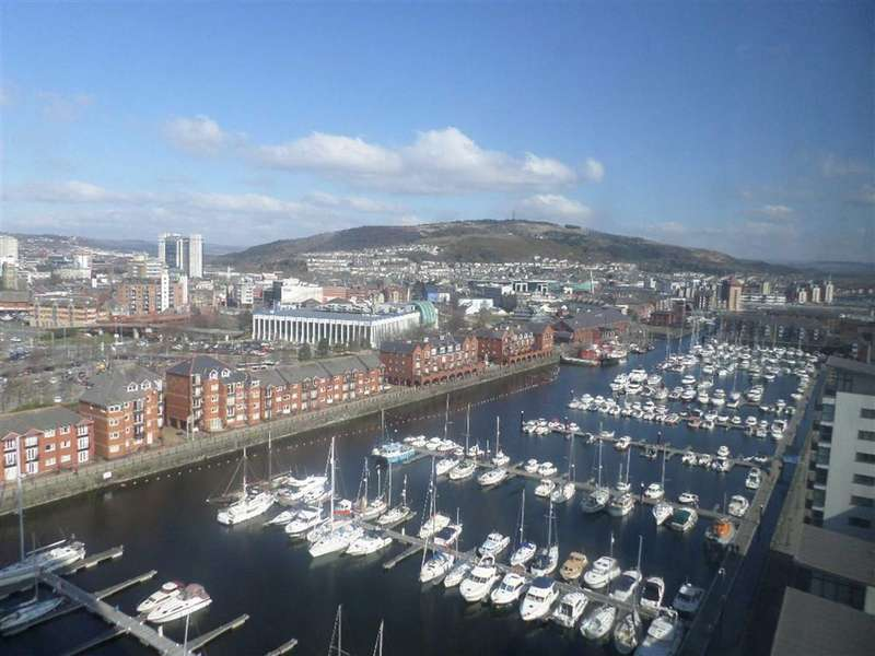 1 Bedroom Apartment Flat for sale in Meridian Tower, Trawler Road, Swansea