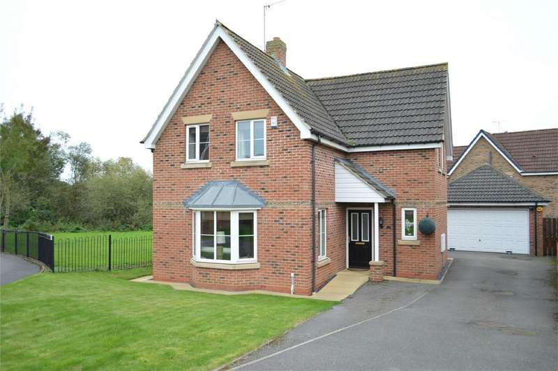 4 Bedrooms Detached House for sale in 15 Spring Field Close, Sigglesthorne, HULL, East Riding of Yorkshire