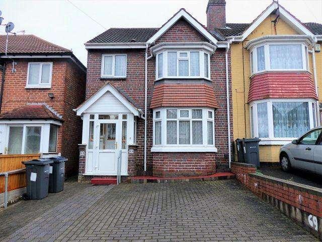 3 Bedrooms Semi Detached House for sale in Cranbrook Road,Handsworth,Birmingham