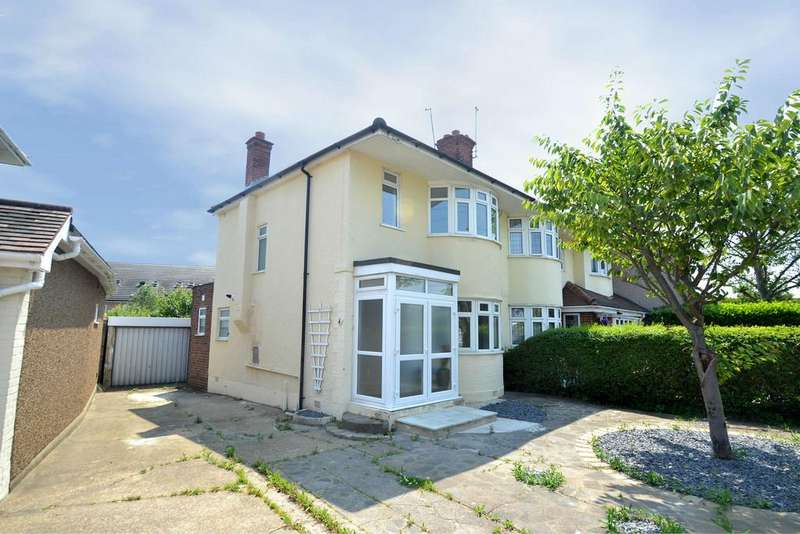 2 Bedrooms Semi Detached House for sale in Highfield Road, Collier Row
