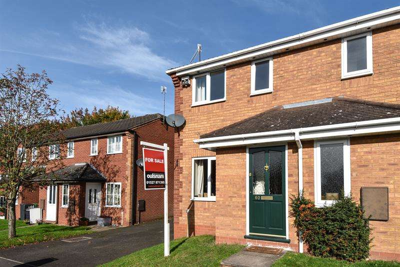 2 Bedrooms Semi Detached House for sale in Abbey Close, Bromsgrove