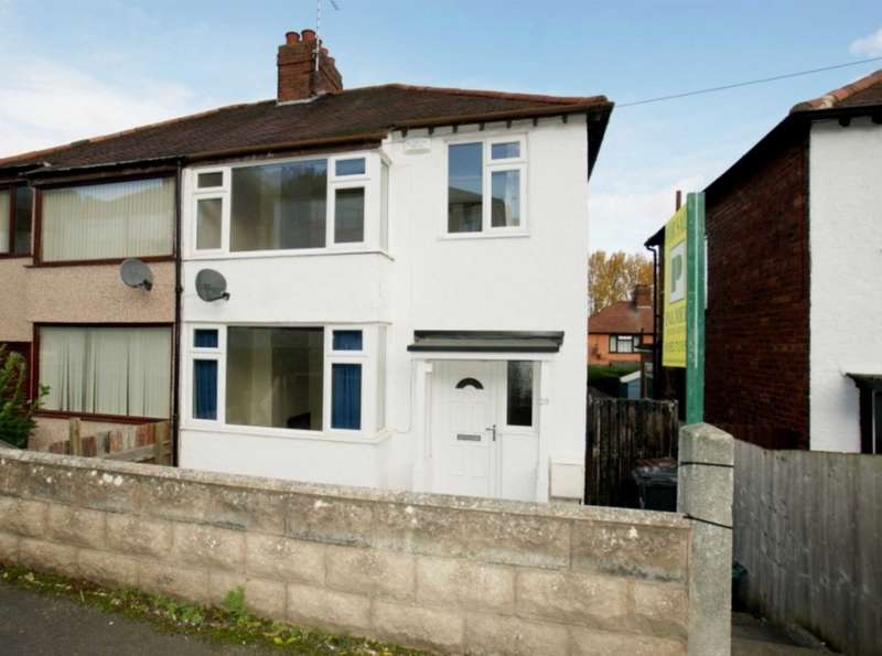 3 Bedrooms Semi Detached House for sale in Glan Y Don, Greenfield, Holywell, CH8 7HQ