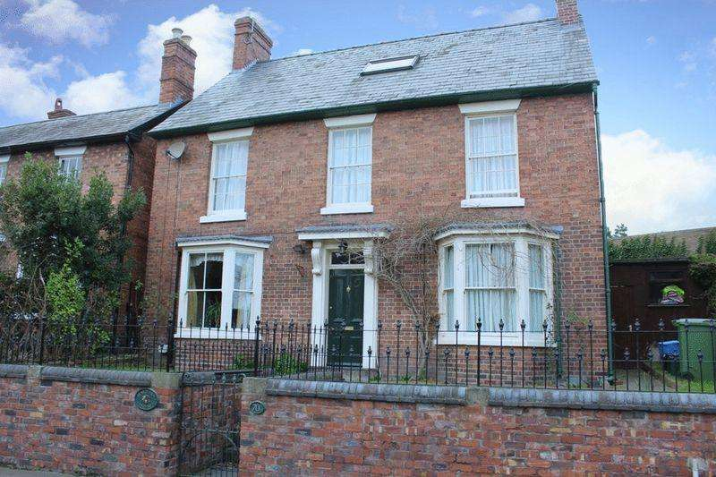 5 Bedrooms Detached House for sale in Pengwern House, 70a New Street, Frankwell, Shrewsbury, SY3 8JF