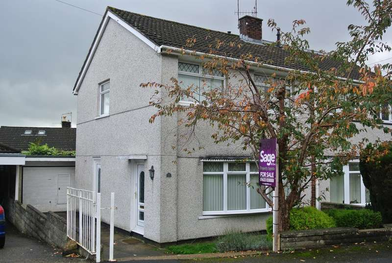 3 Bedrooms Semi Detached House for sale in Thornhill Close, Upper Cwmbran, CWMBRAN, NP44