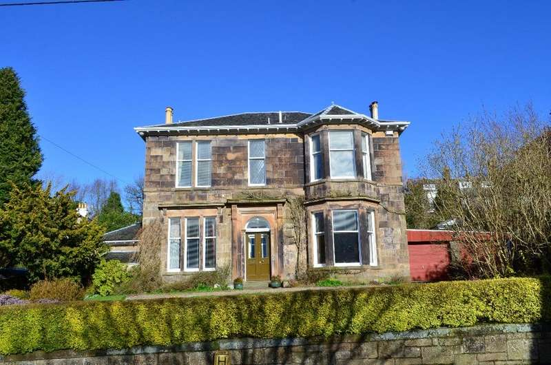 4 Bedrooms Detached House for sale in 12 , The Crescent, Busby, Glasgow, G76 8HT