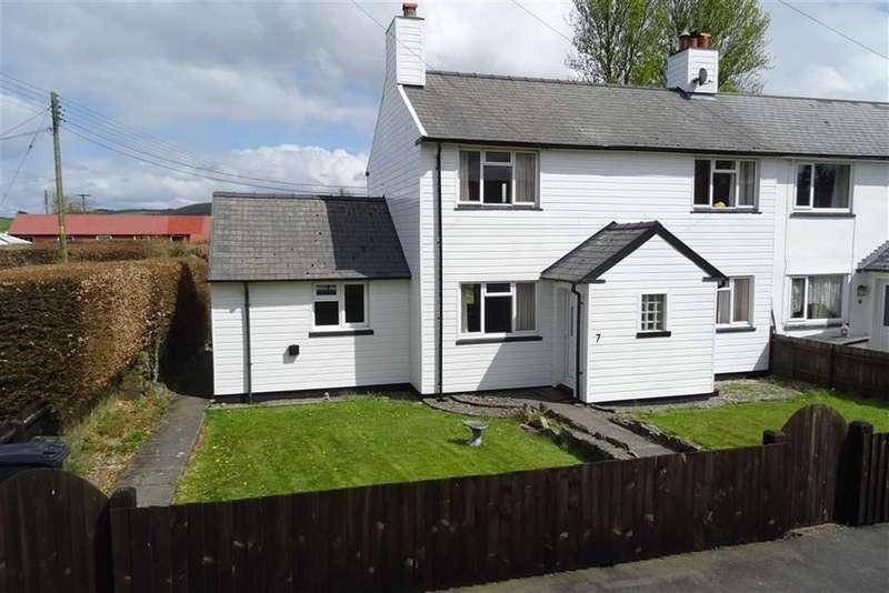 3 Bedrooms Semi Detached House for sale in 7, Ffordd Y Coedwyr, Staylittle, Llanbrynmair, Powys, SY19