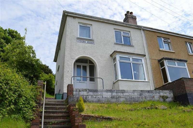 3 Bedrooms Semi Detached House for sale in Lydford Avenue, Swansea, SA1