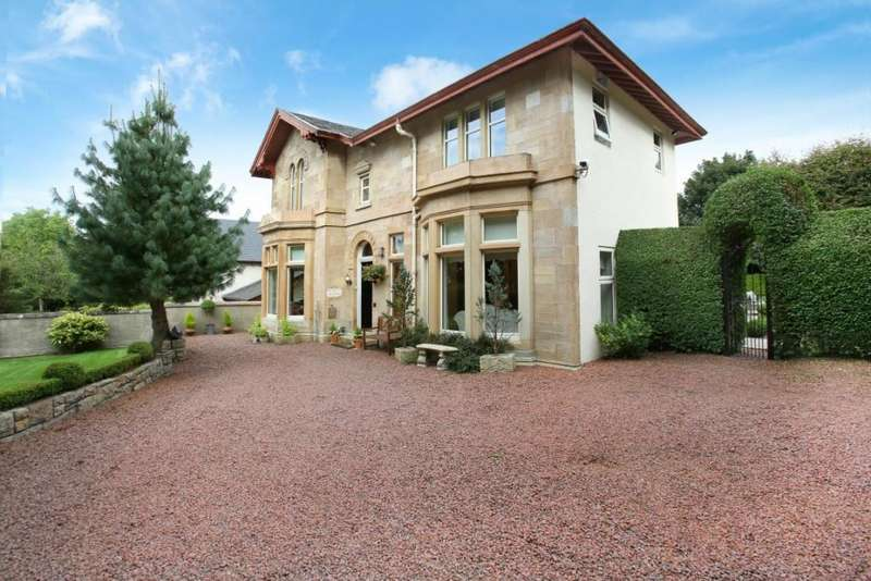 5 Bedrooms Detached House for sale in San Vivasara, 49 Peel Road, Thorntonhall, G74 5AG
