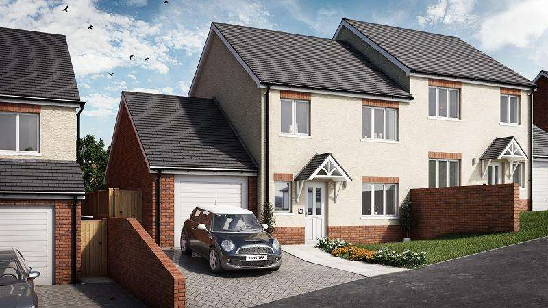 3 Bedrooms Semi Detached House for sale in Cedar, Plot 18 Waunsterw, Rhydyfro, Pontardawe.