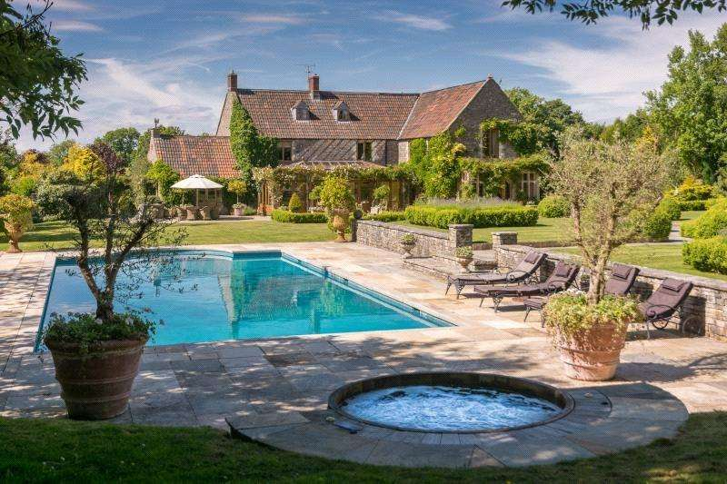 6 Bedrooms Detached House for sale in Ashwick, Somerset, BA3