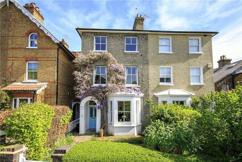 4 Bedrooms Semi Detached House for sale in Rosemont Road, Richmond, TW10
