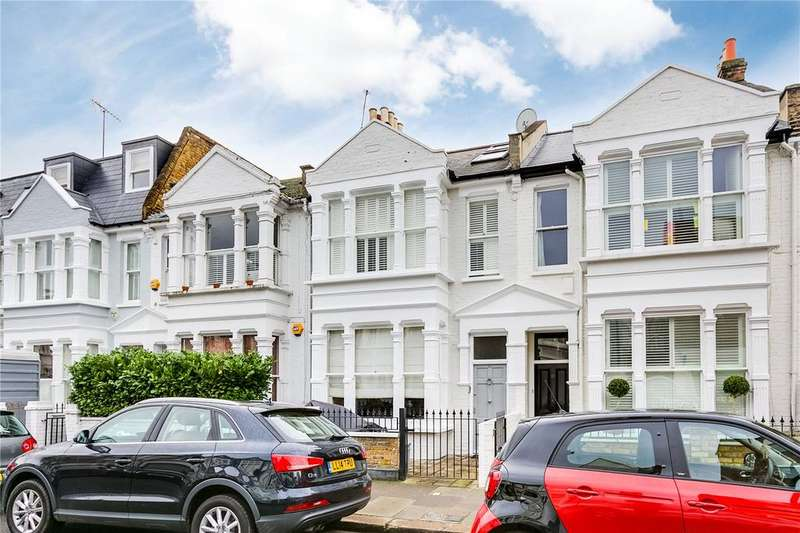 4 Bedrooms Terraced House for sale in Gowan Avenue, Fulham, London