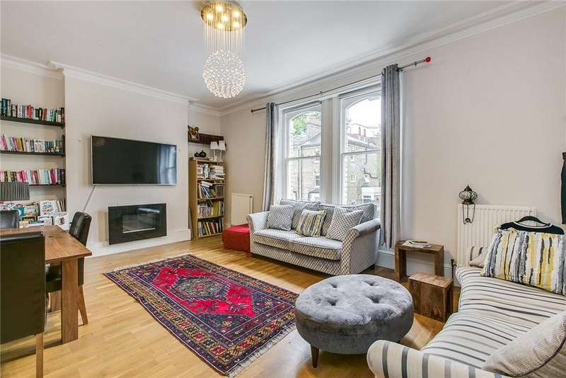 3 Bedrooms Flat for sale in Edith Road, London, W14