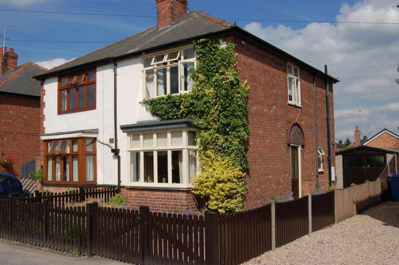 3 Bedrooms Semi Detached House for sale in Retford, Nottinghamshire