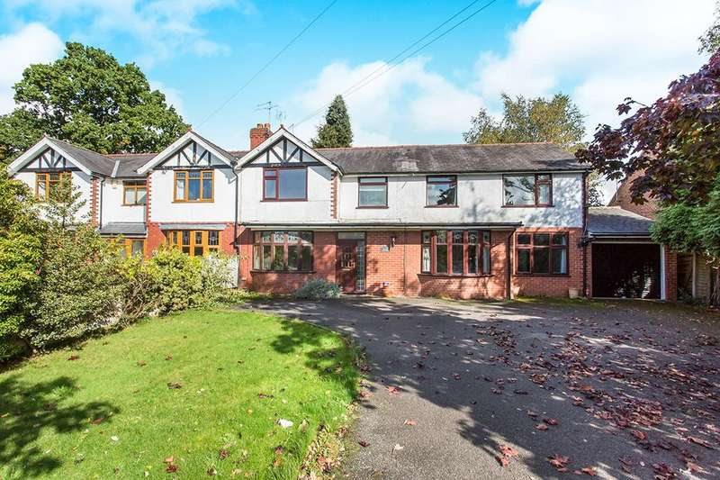 4 Bedrooms Semi Detached House for sale in Park House Holmes Chapel Road, Somerford, Congleton, CW12