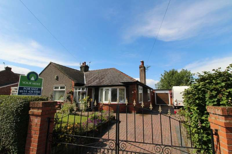 3 Bedrooms Semi Detached Bungalow for sale in Delph Lane, Whiston, Prescot, L35